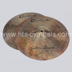 "TURKISH Golden Legend Hi-Hat 14"" - 2437gr"