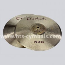 "TURKISH NJG New Jazz Generation Hi-Hat 14"" - 2428gr"