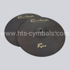 "TURKISH RawDark Hi-Hat 14"" - 2613gr"